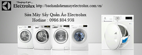 Sua May Say Quan Ao Electrolux Tai Ha Noi